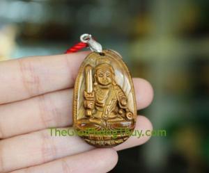 Phật bản mệnh đá mắt mèo-Bất Động Minh Vương (Dậu) FS6339-7