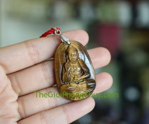Phật bản mệnh đá mắt mèo-Phật A Di Đà (Tuất + Hợi) FS6339-8