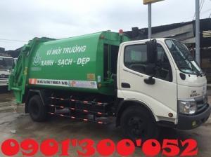 Giá xe cuốn ép rác Hino 6 khối 2.5 tấn, xe...