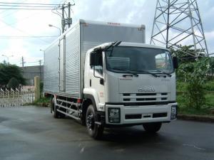 Bán xe tải thùng kín Isuzu 8.1 tấn – FVR34Q (...
