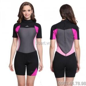 Áo bơi liền thân giữ nhiệt wetsuit nữ