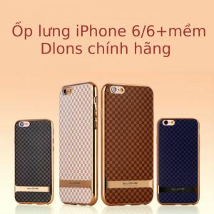Ốp lưng mềm iphone 6 6 plus Dlons chính hãng