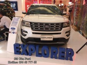 Giá lăn bánh Ford Explorer 2017 - Đại Lý Sài Gòn Ford