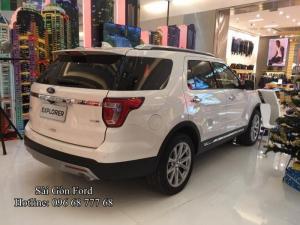 Giá lăn bánh Ford Explorer 2018 - Đại Lý Sài Gòn Ford
