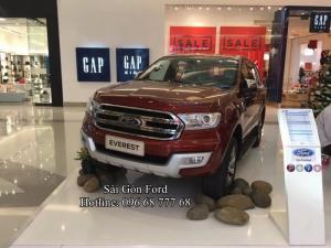 Giá lăn bánh Ford Everest 2018. Đại Lý Sài Gòn Ford