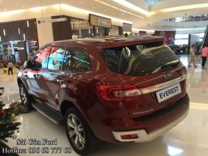 Giá lăn bánh Ford Everest 2018 - Đại Lý Sài Gòn Ford