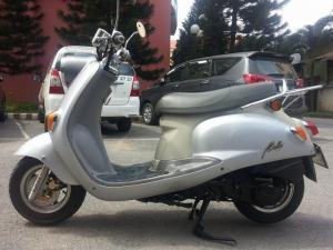 Suzuki Bella 125 Xám Bạc Kiểu Dáng Mio...