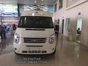 Giá lăn bánh Ford Transit 2017 - Đúng giá nhất hệ thống Ford Miền Nam