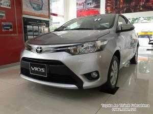 Khuyến Mãi Mua Toyota Vios E 2018 Số Tự Động Màu Bạc Giao Tháng 2/2018 Tại HCM
