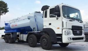 Xe chở xăng dầu hyundai nhập khẩu 4 chân 21 khối