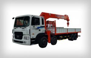 Xe cẩu hyundai nhập khẩu sức năng từ 5-12,5 tấn