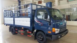 Xe thùng mui bạt ( Thùng dài 5 mét), xe có máy lạnh, phanh cupo, Linh kiện nhập khẩu trực tiếp từ Hyundai Hàn Quốc