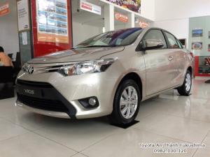 Khuyến Mãi Mua Toyota Vios E 2017 Số Tự Động Màu Nâu Vàng Giao Tháng 09/2017 Tại HCM