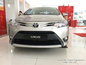 Khuyến Mãi Mua Toyota Vios E 2018 Số Tự Động Màu Nâu Vàng Giao Tháng 1/2018 Tại HCM