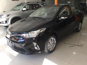Khuyến Mãi Mua Toyota Vios E 2018 Số Tự Động Màu Đen Giao Tháng 3/2018 Tại HCM