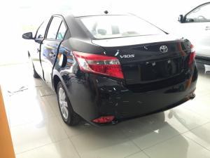 Khuyến Mãi Mua Toyota Vios E 2017 Số Tự Động Màu Đen Giao Tháng 08/2017 Tại HCM