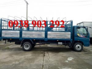 Cần bán xe tải Thaco Ollin700B tải trọng 7 tấn thùng kèo bạt, có bán trả góp