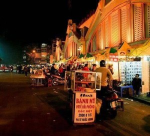 Cho thuê ki ốt chợ đêm cuối tuần