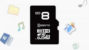 Thẻ nhớ micro SD 8 GB class4 của Transcend- thương hiệu thẻ nhớ nổi tiếng hàng đầu thế giới.