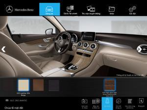 Khuyến mãi Mercedes GLC 300 Đen-Kem 2017 - có 1 xe -giao xe ngay