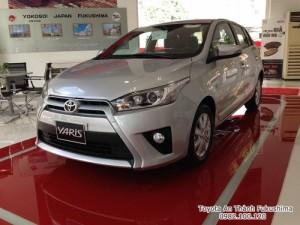 Khuyến Mãi Toyota Yaris 1.5G 2017 Màu Bạc Nhập Khẩu Thái Lan Mới, Mua Trả Góp chỉ cần 265Tr.