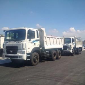 Xe tải ben hyundai hd270 nhập khẩu giá tốt, có máy cơ và máy điện