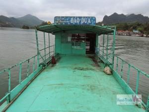 Cho thuê dịch vụ thuyền đưa đón, ăn trưa tại Thung Nai, Hòa Bình