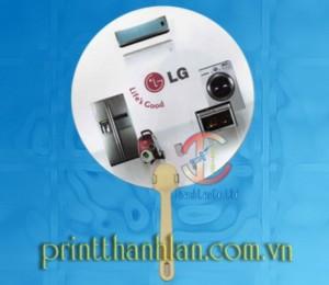 Xưởng sản xuất quạt nhựa quảng cáo giá rẻ, chất lượng tại Tp. HCM.