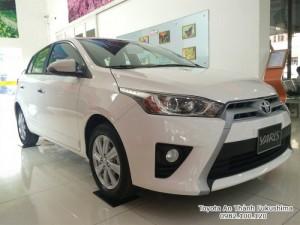 Khuyến Mãi Toyota Yaris 1.5 2018 màu trắng nhập khẩu Mua Trả Góp chỉ cần 200Tr. Xe Giao Ngay