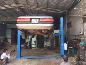 Cầu nâng 2 trụ sửa xe ô tô Titano - Bảo hành...
