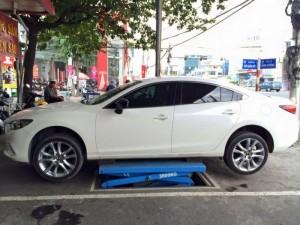 Cầu nâng kiểu xếp ô tô kiểu nâng gầm - nâng...