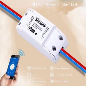 Bộ điều khiển bật tắt và hẹn giờ thiết bị qua Wifi