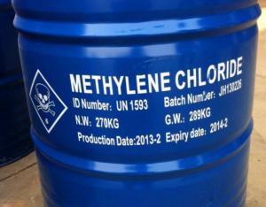 MC _ Methylene chloride _ Metylen  clorua dùng tẩy rửa, sơn, mực in