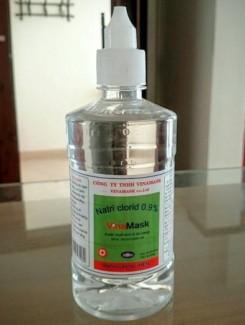 Cung cấp nước muối sinh lý Vinamask 0,9% giá tốt nhất thị trường