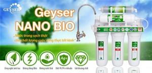 Máy lọc nước Geyser Nano Bio nhập khẩu chính hãng từ LB Nga