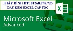 Dạy Word, Excel cấp tốc cho người đi làm.