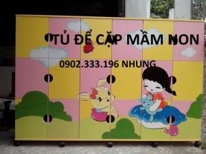 Kệ mầm non, kệ gỗ giá rẻ, kệ đồ chơi trẻ em tại tphcm
