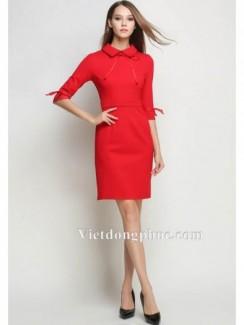 Váy liền thân công sở 2017