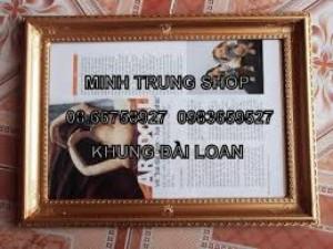 Khung giấy khen nhựa đài loai bốn góc bộng rẻ nhất thành phố Hồ Chí Minh