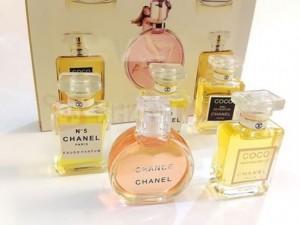 Bộ Chanel 5 chai nước hoa Mini Women sang trọng