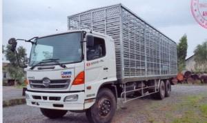 Bán xe Hino FL8JTSL 12,5 tấn chở gia cầm vay ngân hàng lãi suất rẻ - không thế chấp
