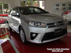 Khuyến Mãi Toyota Yaris 1.5 G 2018 Màu Bạc Nhập Khẩu Thái Lan Mới, Mua Trả Góp chỉ cần 200Tr.