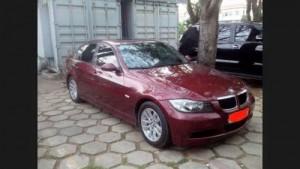 Bán xe BMW 320i, 2007, màu đỏ, xe nhập Đức