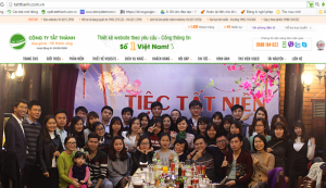 Thiết kế website chuyên nghiệp Tất Thành