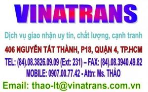 Dịch vụ di dời lắp đặt máy móc thiết bị / VINATRANS