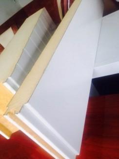 Tôn lợp mái panel PU dày từ 50mm ứng dụng cao
