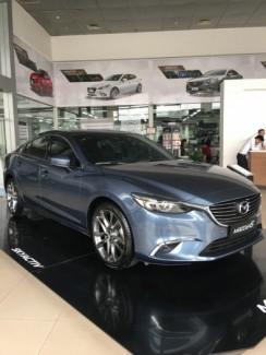 Mazda 6 Facelift giá ưu đãi, hỗ trợ vay trả góp lên tới 90% giá trị xe