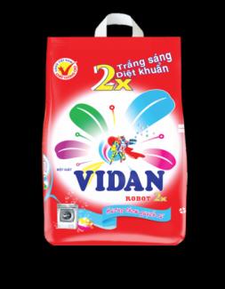Bột giặt ViDan Robot 2x 2,7kg