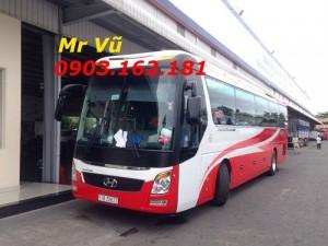 Bán xe khách 47 chỗ thaco máy hyundai 380ps; bán xe khách hyundai universe 47 ghế