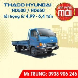 XE TẢI HYUNDAI THACO HD500 tải trọng 5 tấn | Long An - Hồ Chí Minh
